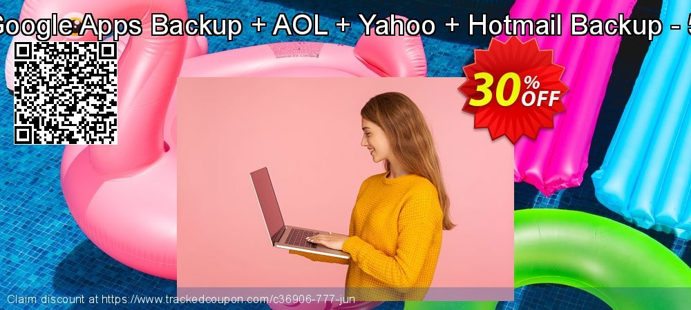 Bundle Offer - Google Apps Backup + AOL + Yahoo + Hotmail Backup - 5 Users License coupon on End year deals