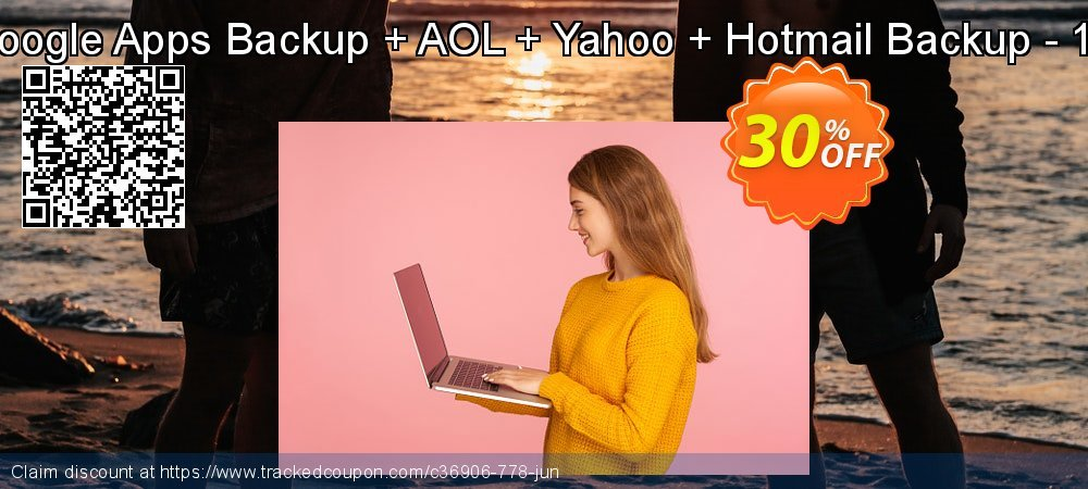Bundle Offer - Google Apps Backup + AOL + Yahoo + Hotmail Backup - 10 Users License coupon on Thanksgiving deals