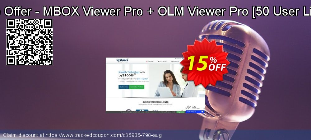 Get 15% OFF Bundle Offer - MBOX Viewer Pro + OLM Viewer Pro [50 User License] promo