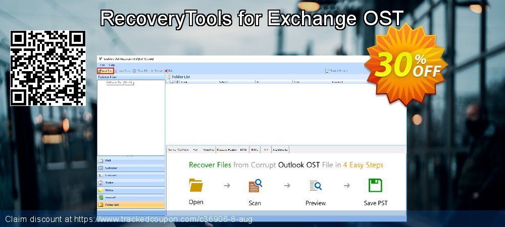 RecoveryTools for Exchange OST coupon on New Year's eve super sale