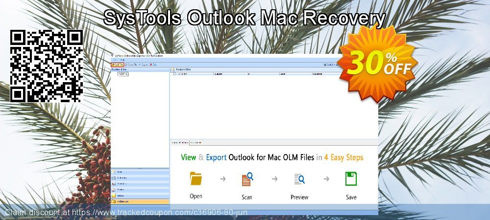 SysTools Outlook Mac Recovery coupon on April Fool's Day offering discount