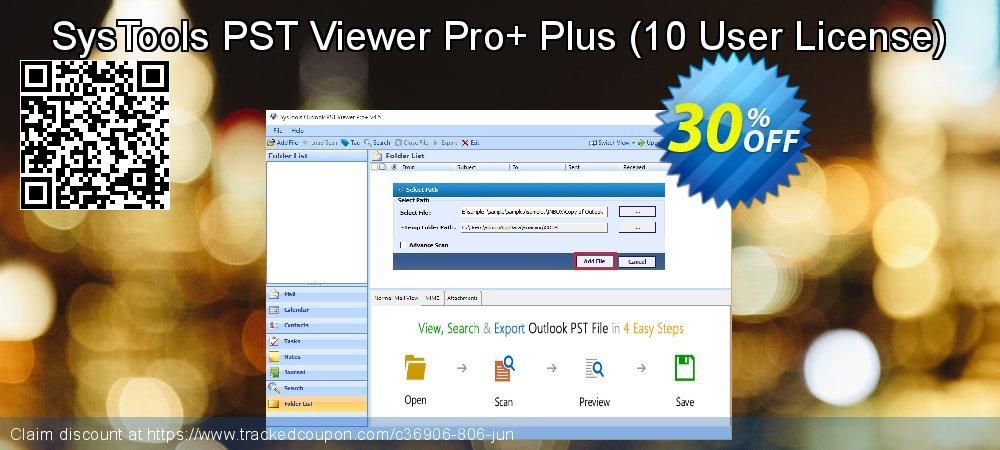 SysTools PST Viewer Pro+ Plus - 10 User License  coupon on Video Game Day discounts
