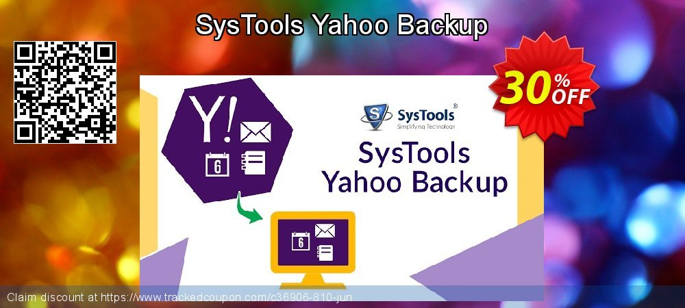 SysTools Yahoo Backup Single Account coupon on Easter offer
