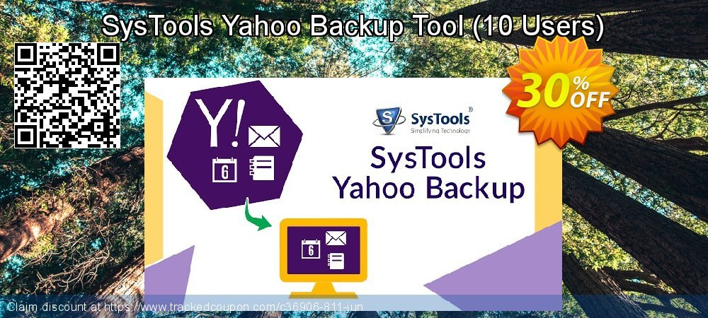 SysTools Yahoo Backup Tool - 10 Users  coupon on April Fool's Day offering sales