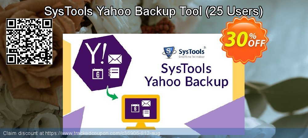 SysTools Yahoo Backup Tool - 25 Users  coupon on 4th of July offering discount