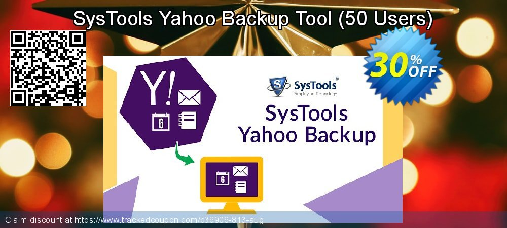 SysTools Yahoo Backup Tool - 50 Users  coupon on End of Year deals