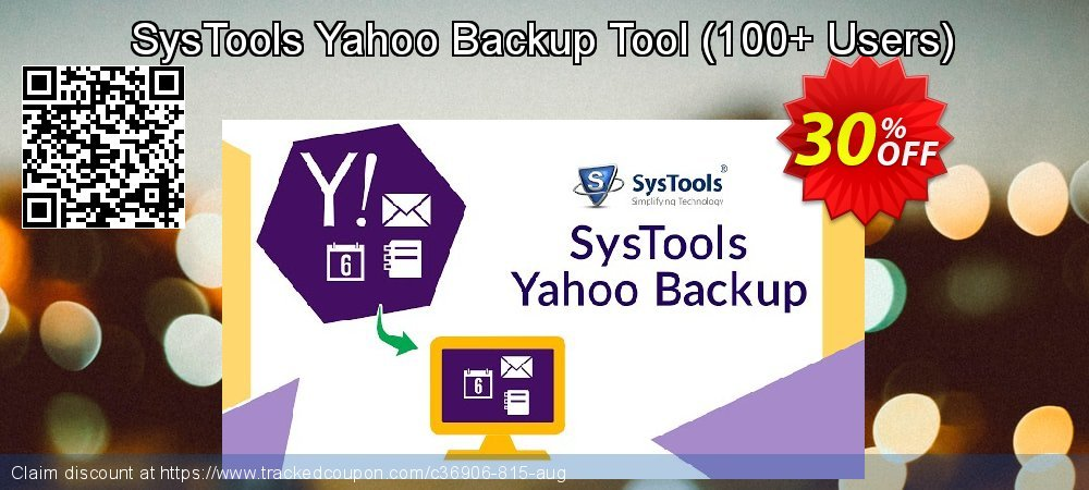 SysTools Yahoo Backup Tool - 100+ Users  coupon on World Chocolate Day discounts