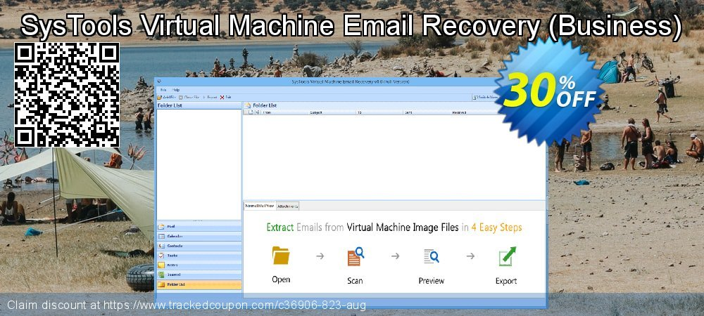 SysTools Virtual Machine Email Recovery - Business  coupon on Black Friday deals