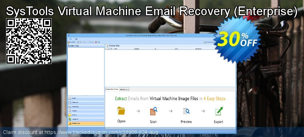 SysTools Virtual Machine Email Recovery - Enterprise  coupon on April Fool's Day super sale