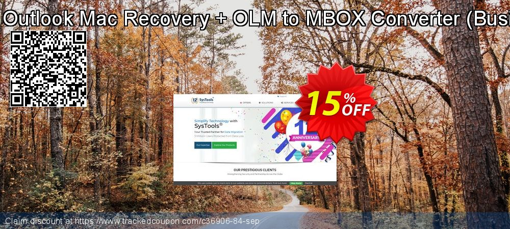 Get 15% OFF Bundle Offer - Outlook Mac Recovery + OLM to MBOX Converter [Business License] discounts