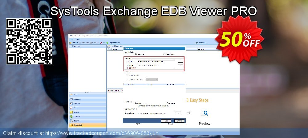 SysTools Exchange EDB Viewer coupon on Summer sales