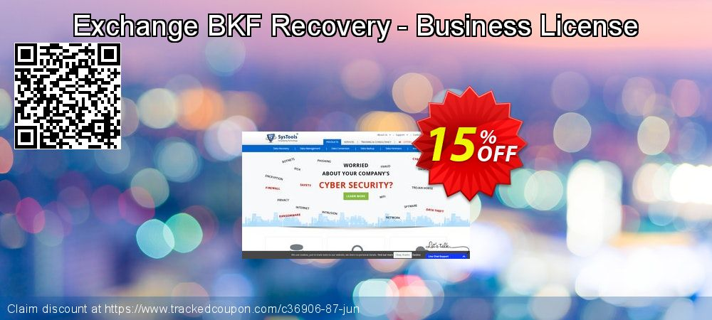 Get 15% OFF Exchange BKF Recovery - Business License deals