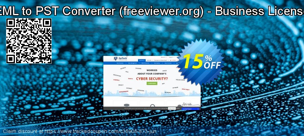 EML to PST Converter (freeviewer.org) - Business License coupon on Summer offer