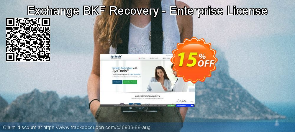 Get 15% OFF Exchange BKF Recovery - Enterprise License promotions