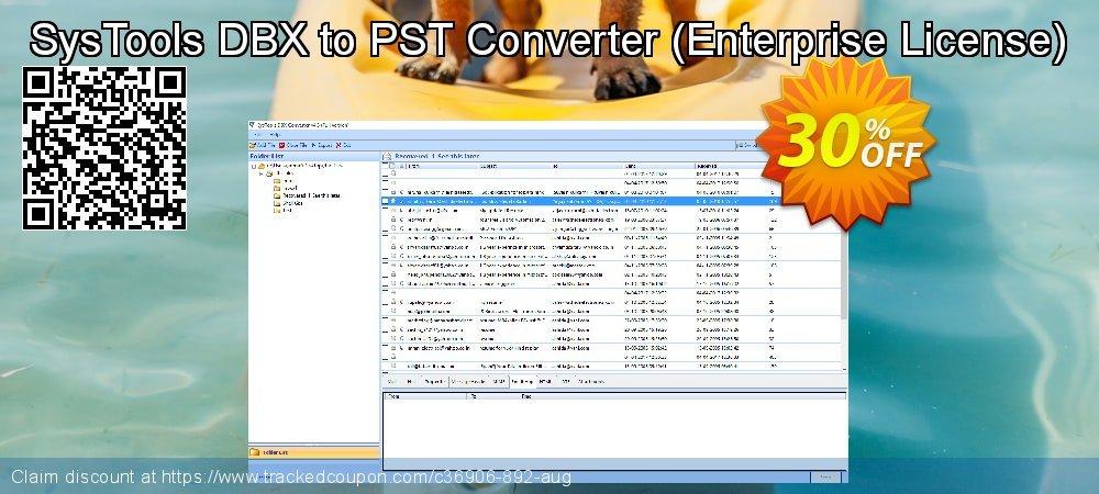 SysTools DBX to PST Converter - Enterprise License  coupon on 4th of July discount