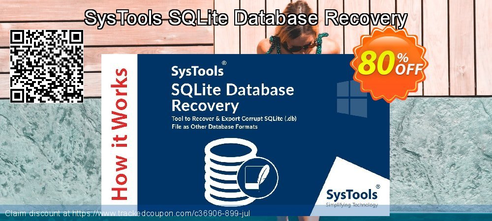 SysTools SQLite Database Recovery coupon on US Independence Day deals