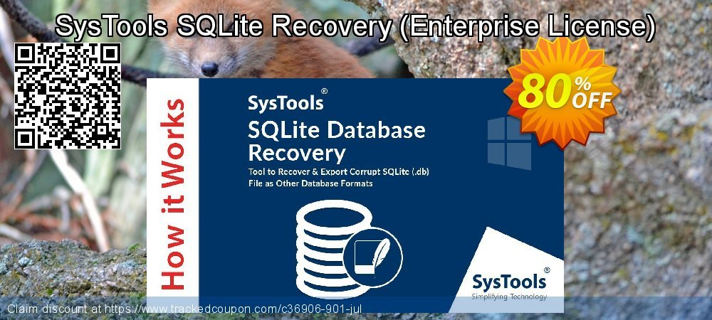 SQLite Database Recovery - Enterprise License coupon on April Fool's Day promotions