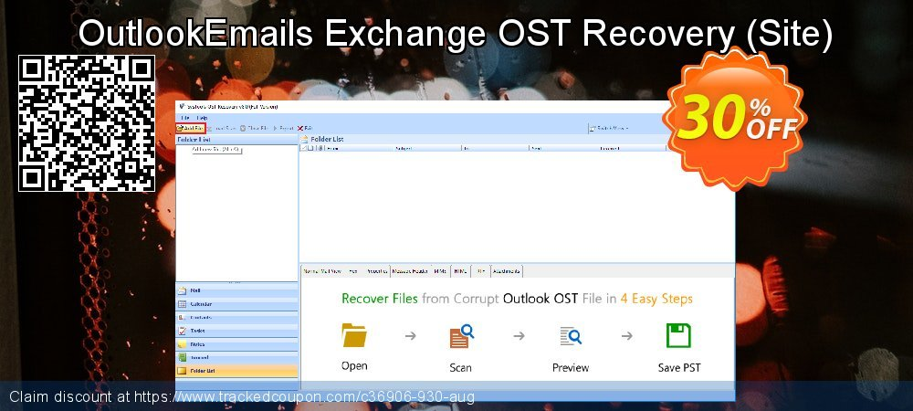 OutlookEmails Exchange OST Recovery - Site  coupon on July 4th offering sales