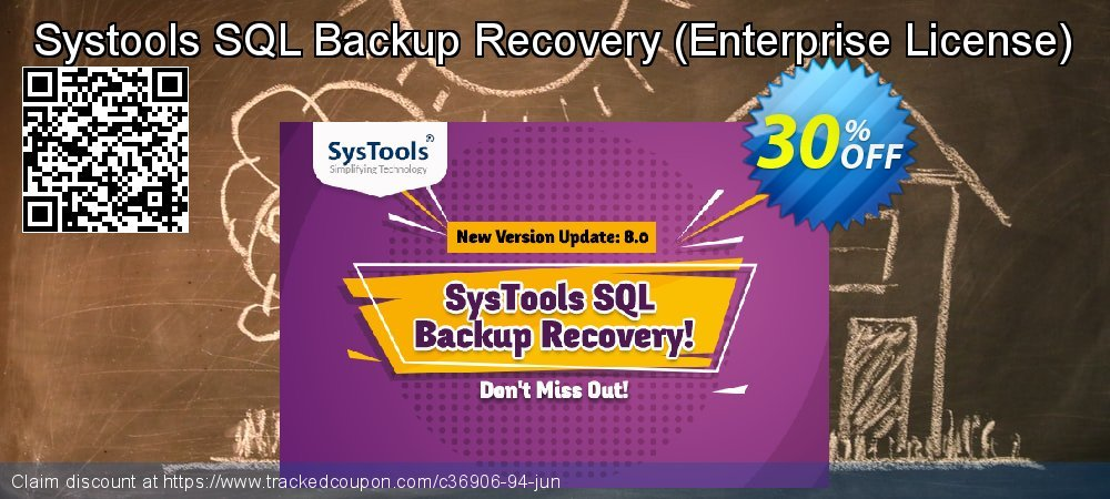 Claim 30% OFF Systools SQL Backup Recovery - Enterprise License Coupon discount July, 2021