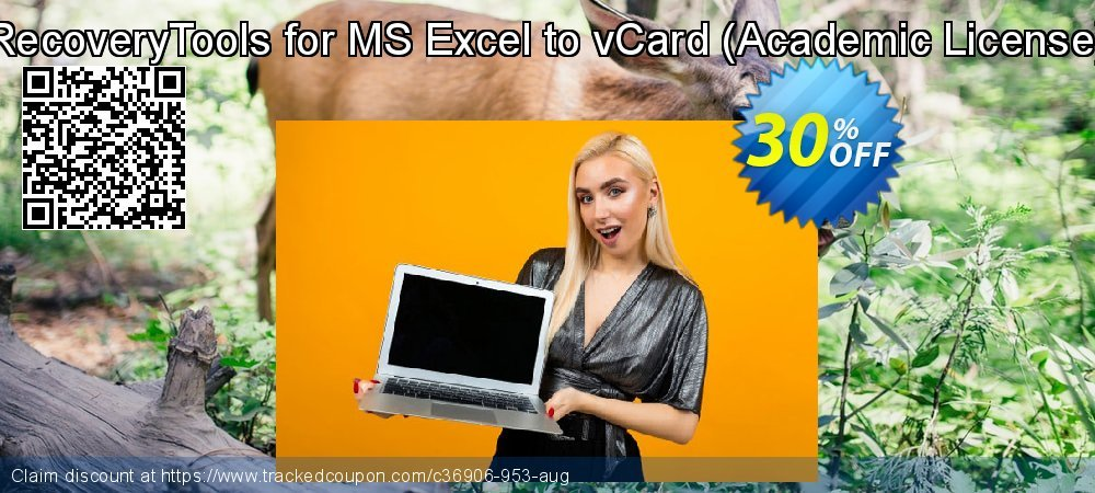 RecoveryTools for MS Excel to vCard - Academic License  coupon on Emoji Day deals