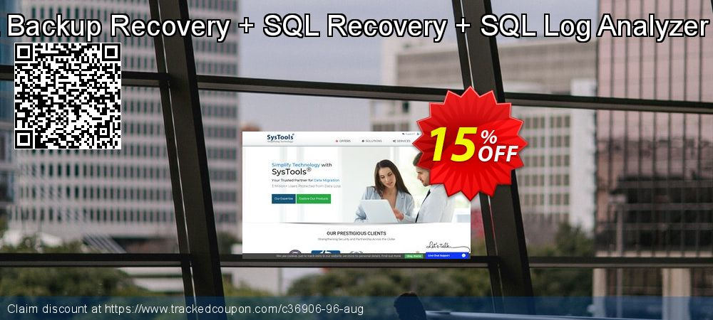 Bundle Offer - SQL Backup Recovery + SQL Recovery + SQL Log Analyzer [Business License] coupon on 4th of July promotions