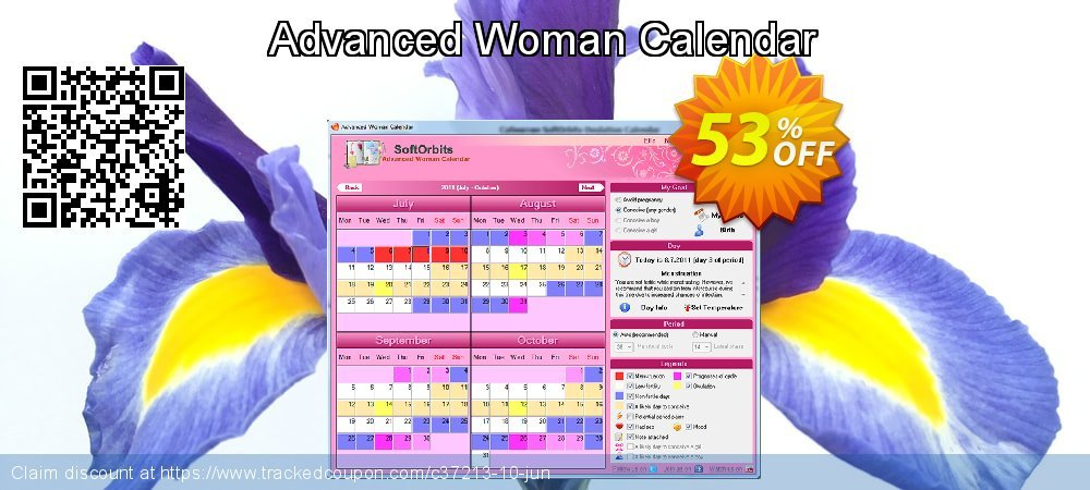 Advanced Woman Calendar coupon on Halloween discounts