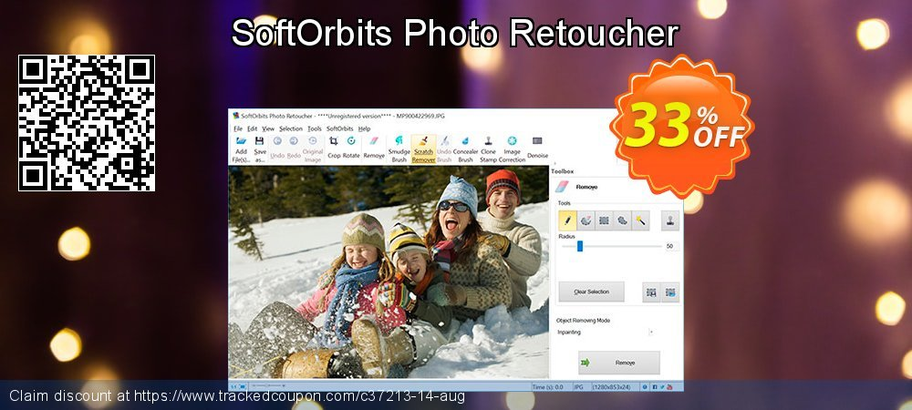 SoftOrbits Photo Retoucher coupon on Halloween offer