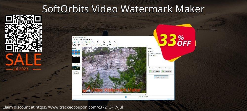 SoftOrbits Video Watermark Maker coupon on Halloween offering sales