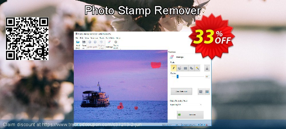 Photo Stamp Remover coupon on Halloween promotions