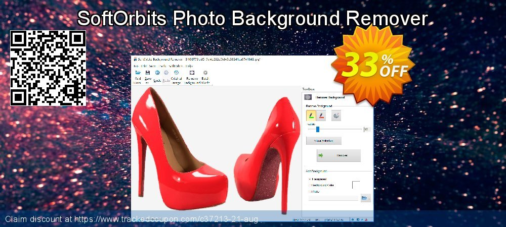 Get 30% OFF Photo Background Remover offering deals