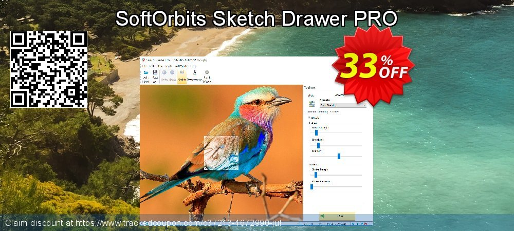 Get 31% OFF SoftOrbits Sketch Drawer PRO offering sales