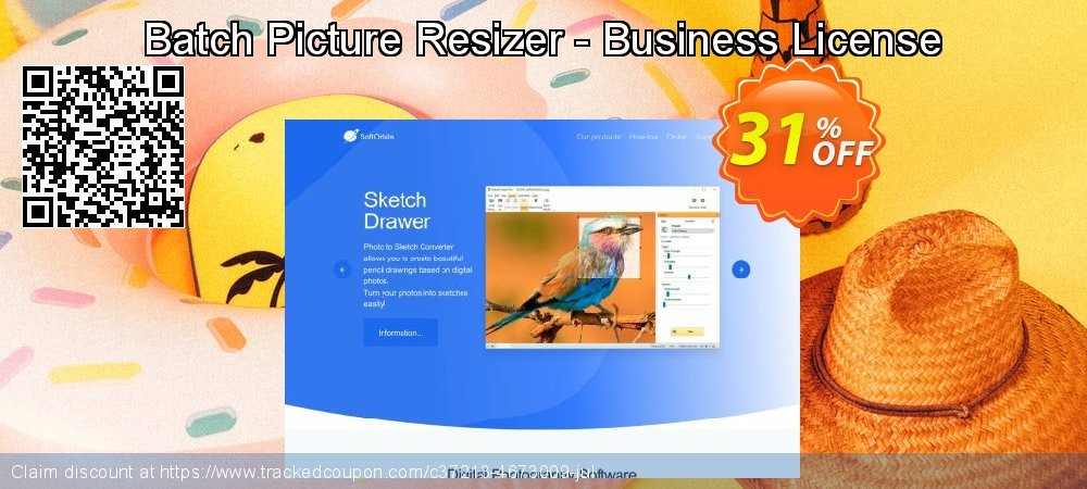 Batch Picture Resizer - Business License coupon on April Fool's Day offering discount
