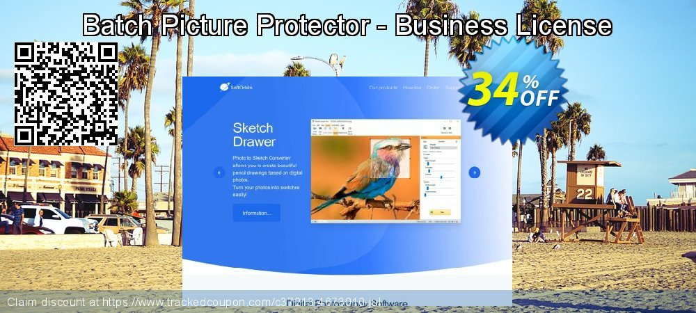 Batch Picture Protector - Business License coupon on April Fool's Day offering sales