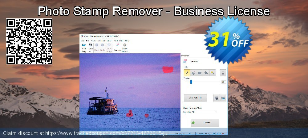 Get 30% OFF Photo Stamp Remover - Business License offering sales