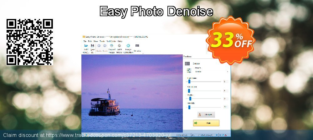 Easy Photo Denoise coupon on April Fool's Day promotions
