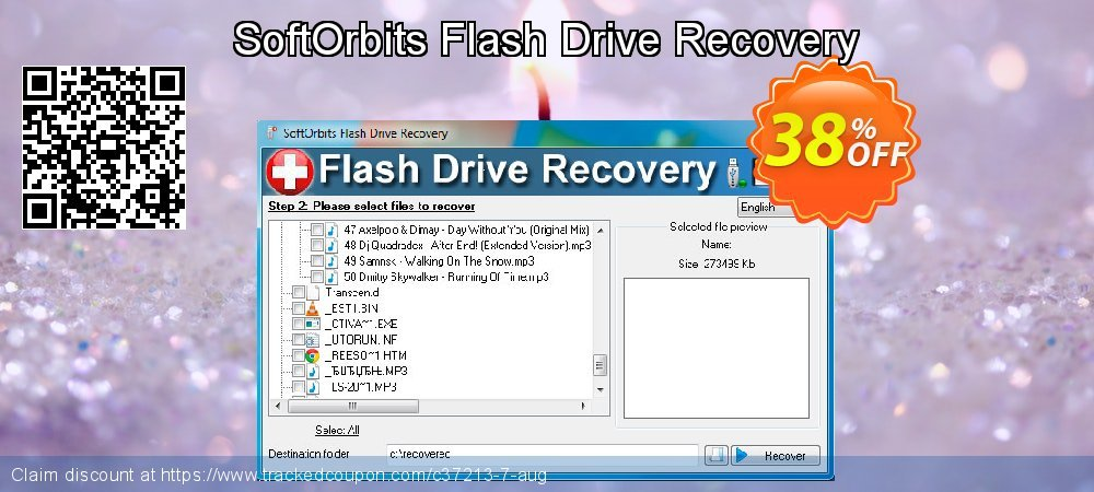 Claim 30% OFF SoftOrbits Flash Drive Recovery Coupon discount June, 2019
