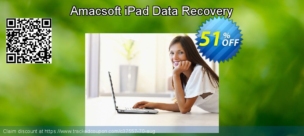 Claim 50% OFF Amacsoft iPad Data Recovery Coupon discount March, 2019