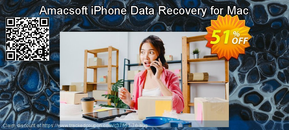 Claim 50% OFF Amacsoft iPhone Data Recovery for Mac Coupon discount March, 2019