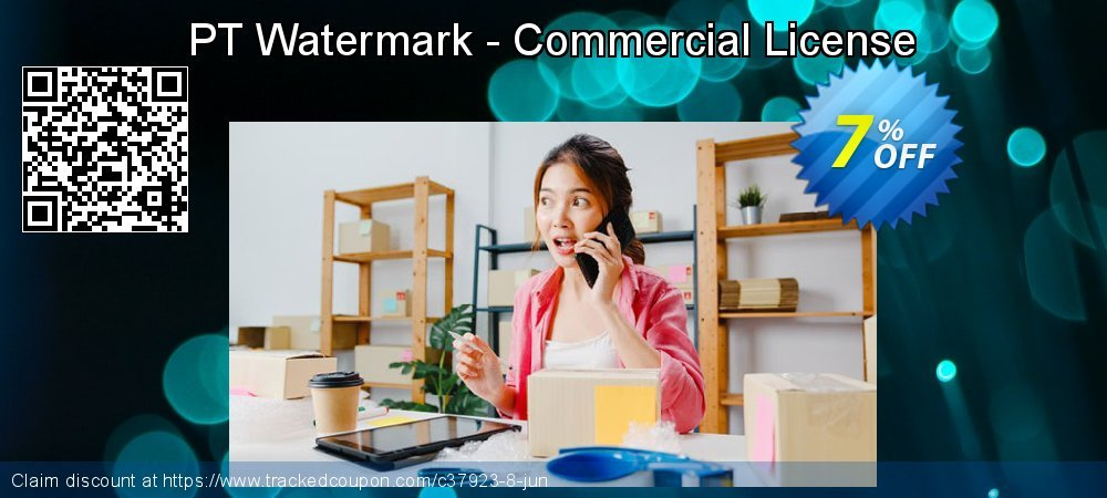 PT Watermark - Commercial License coupon on Happy New Year offering discount