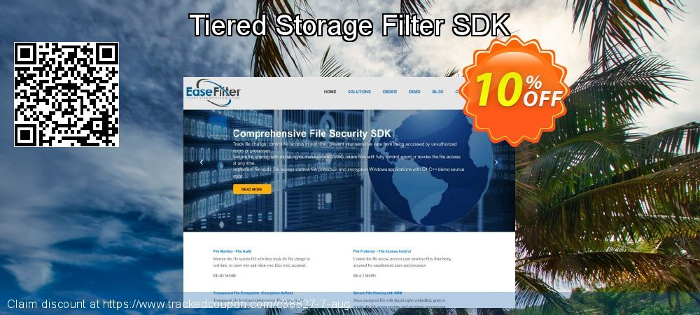 Get 10% OFF Tiered Storage Filter SDK discount