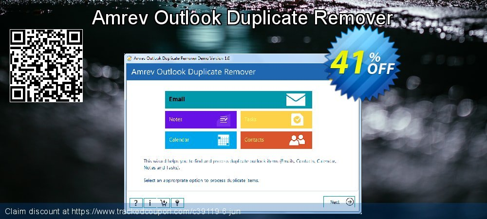 Claim 41% OFF Amrev Outlook Duplicate Remover Coupon discount April, 2020