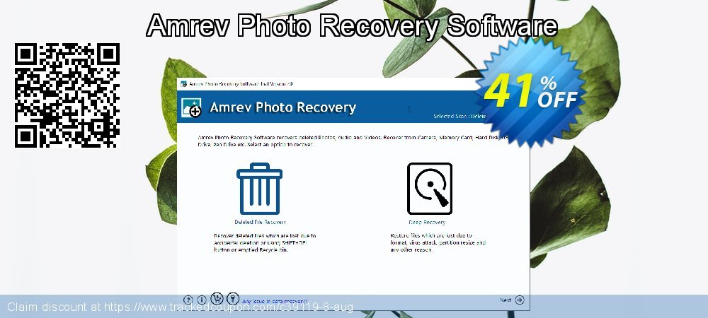 Claim 41% OFF Amrev Photo Recovery Software Coupon discount February, 2020