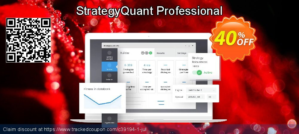 StrategyQuant X Pro coupon on University Student deals super sale