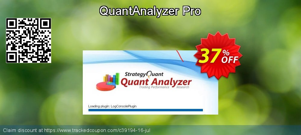 QuantAnalyzer coupon on Halloween offering sales