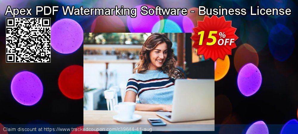 Get 15% OFF Apex PDF Watermarking Software - Business License offer