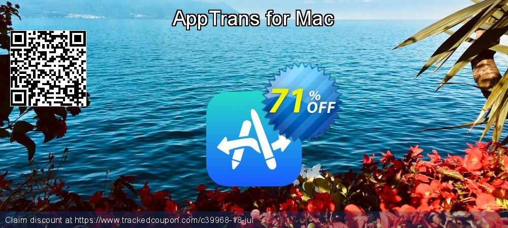 AppTrans for Mac coupon on National Pumpkin Day discounts