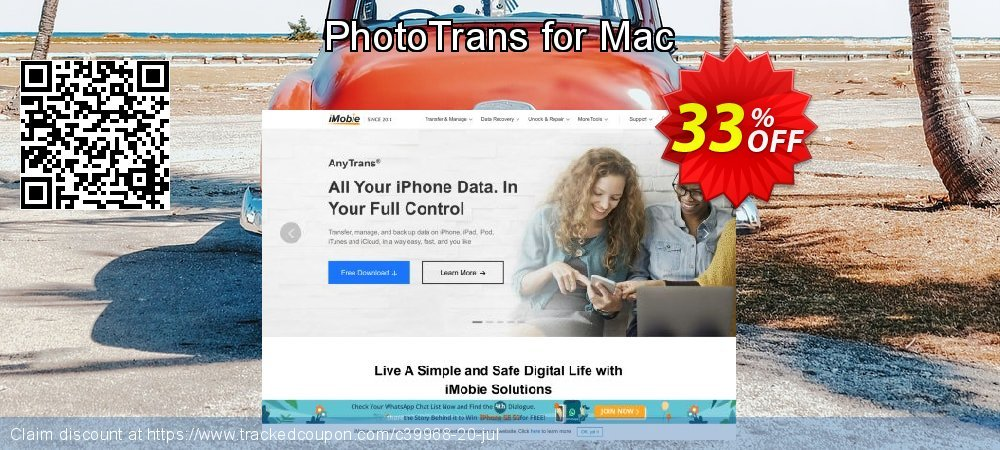 Get 30% OFF PhotoTrans for Mac offering deals