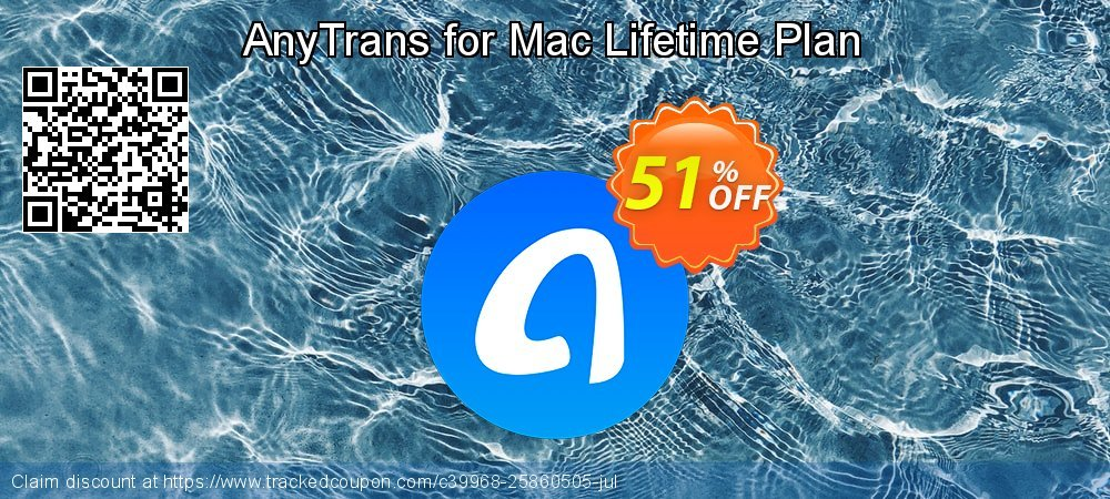 AnyTrans for Mac Lifetime Plan coupon on Halloween offer