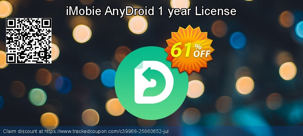 AnyTrans for Android 1 year license coupon on New Year offering sales
