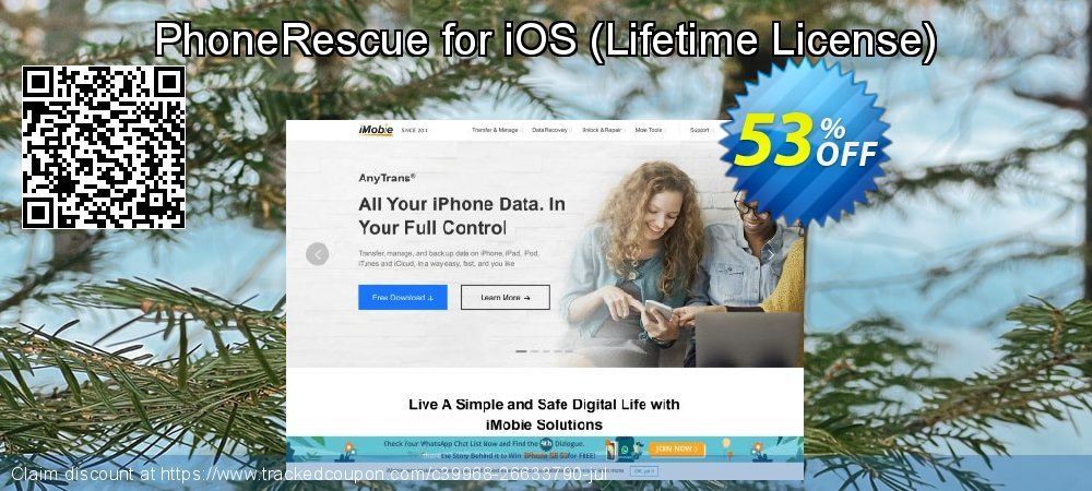 Claim 31% OFF PhoneRescue for iOS - Lifetime License Coupon discount August, 2020
